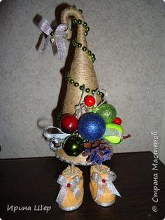 Декор предметов День рождения Новый год Ассамбляж Моделирование конструирование Декабрьское последнее в этом году   фото 5