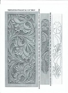 leather working patterns