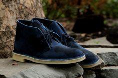 Clarks Desert Boot - Navy Camo | Boot | Kith NYC