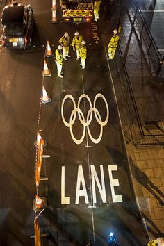 First Games Lane installed on the Embankment, London
