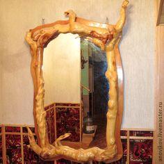 Купить Зеркало - зеркало, деревянная рамка, эксклюзивная работа, изделия из…