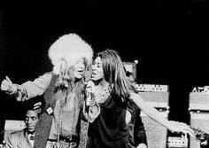Janis with Tina Turner