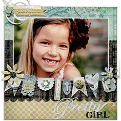 Pretty Girl ⊱✿-✿⊰ Follow the Scrapbook Pages board visit GrannyEnchanted.Com for thousands of digital scrapbook freebies. ⊱✿-✿⊰