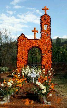 Dia de Muertos - ofrenda made for the Days of the Dead. #DayoftheDead #DiaDeLosMuertos #ofrenda