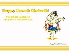 Ganesh chaturthi invitation card for ganesh mahotsav ganesh lovely collection of happy ganesh chaturthi invitation card with invitation message stopboris Image collections