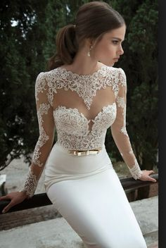 I wouldn't want this for my dress but it's absolutely stunning