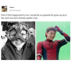 I love Tom Holland