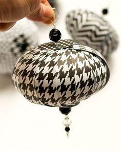 Paper DIY Ornaments