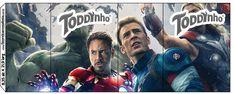 Rótulo Toddynho Os Vingadores 2
