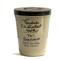 Aux Anysetiers du Roy 70% Dark Chocolate French Fondue - 7oz. - Serves 4