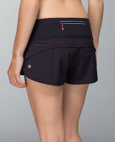 My absolute favorite shorts to run in, especially on race day...Lululemon Run: Speed Short *Block-It Pocket