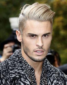Haare männer gefärbte blond Blondinen bevorzugt: