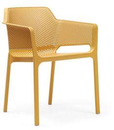Net Chair - Yellow - Nardi #PlasticChair