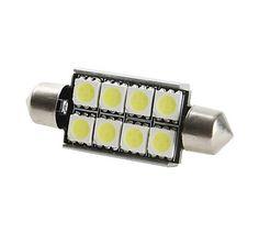 42mm 8x5050 SMD lumière LED pour voiture (12V DC)