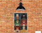 Placa Decorativa Mdf Liga da Justiça Advent Calendar, Holiday Decor, Home Decor, League Of Justice, Stickers, Hand Crafts, Homemade Home Decor, Decoration Home, Advent Calenders