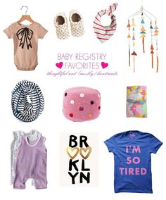 LOVE this Baby Registry Favorites roundup from Lay Baby Lay and Babylist!