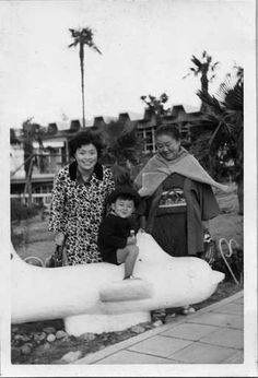 with mother & Grandmother