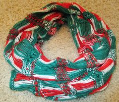 Ravelry: Christmas Drop Stitch Scarf pattern by Missy's Crafty Mess