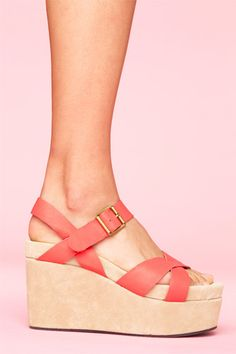 I had shoes exactly like this when I was in high school - only the leather straps were nude - loved them!