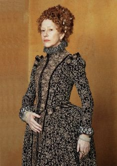 Queen Elizabeth I in Movies & TV – Elizabeth I, Helen Mirren Elizabeth, Princess Elizabeth, Glenda Jackson, Walter Raleigh, Tudor Costumes, Elizabethan Era, Fashion Tv, Tudor Fashion