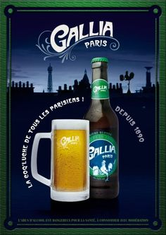 GALLIA PARIS - The French Beer