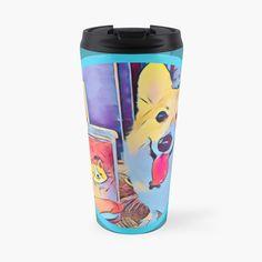Corgi and tea Laptop Case, Laptop Skin, Corgi Dog, Iphone Phone Cases, Dog Lovers, Coffee Mugs, Tea, High Tea, Teas