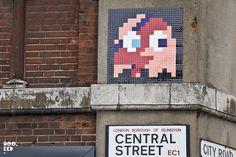 Space Invader launched a new invasion on London last night. More images over on the blog:   http://www.hookedblog.co.uk/2013/05/invader-invades-london-again.html