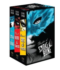 The Daughter of Smoke & Bone Trilogy Hardcover Gift Set by Laini Taylor http://www.amazon.com/dp/0316286389/ref=cm_sw_r_pi_dp_0fEtub1KJW0V8
