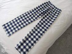 Coudre un bas de pyjama, rapidement!  Et d'une simplicité déconcertante !