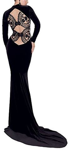 made2envy Velvet Backless Eveing Gown with Long Sleeves (... https://www.amazon.com/dp/B00WFJ24VW/ref=cm_sw_r_pi_dp_x_c47aybWDA123X