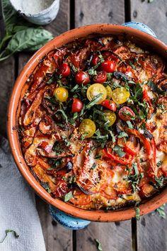 One-Pan Spring Tuscan Quinoa Bake (paleo lasagna chicken) Vegetarian Recipes, Cooking Recipes, Healthy Recipes, Uk Recipes, Vegetable Recipes, Easy Recipes, Healthy Snacks, Comida Tex Mex, Veggies
