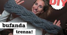 ¿Aún no te manejas muy bien con el crochet? ¡No pasa nada! ¡Tú también puedes tejer esta bufanda!