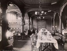 4098. Holmenkollen Turisthotel a la carte-salen, 1904 | Flickr - Photo Sharing!