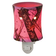 Mossy Oak Break-up® Pink Plug-in Scentsy Warmer Camouflage goes all-girl with Mossy Oak's Break-Up® pattern of leaves, acorns, and branches on a hot pink base.