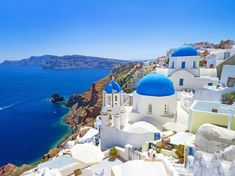 "Santorini Island, Greece – 1 of the Most Beautiful Islands to Travel to "".my video of our adventure to Santorini! Best Places To Honeymoon, Best Honeymoon Destinations, Dream Vacations, Travel Destinations, Romantic Honeymoon, Vacation Travel, Romantic Travel, Cheap Honeymoon, Honeymoon Fund"