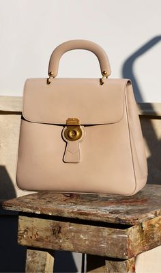 The Large DK88 Top Handle Bag from Burberry.