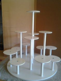 Brand New Custom Cake Stand! Custom Made Cake Stand for Individual Cakes. by MikesAmazingStands, $189.00