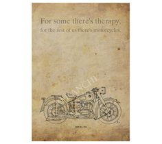 Customized print BMW R51 1938 Motorcycles quote  A3  by drawspots, $42.00