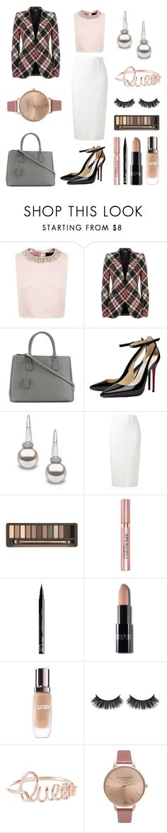 """""""Happy Days Are Here Again"""" by massielcristina on Polyvore featuring moda, Ted Baker, Alexander McQueen, Prada, Yoko London, Roland Mouret, Urban Decay, L'Oréal Paris, NYX y La Mer"""