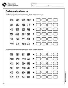 Ordenando números