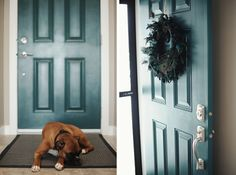love the front door color...Maybe I just need to find a color I love and not worry about the rest! ;o)