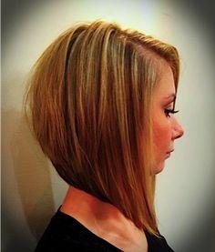 Inverted Bob, hair cut, Blonde Bob, Hair Stylist @Salonseventy Seven northreading