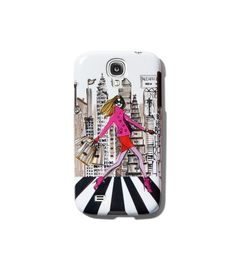 Cityscape Case for Samsung Galaxy's IV @ Henri Bendel NYC
