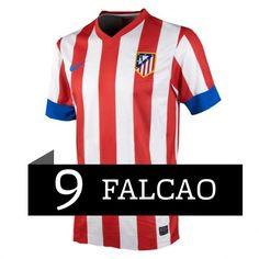690e0dc75e57a Falcao del Atlético de Madrid 2012 13 Camiseta fútbol online  341  - €16.87    Camisetas de futbol baratas online!