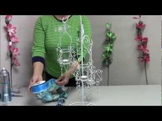 How to Make a Chandelier Centerpiece #WR13 - YouTube