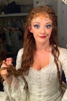 Christine's hair - after (Operafantomet: phantoming)