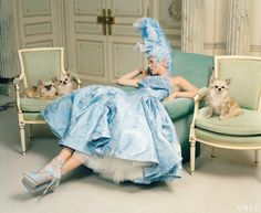 Editorial : Kate Moss by Tim Walker for Vogue US April 2012 ...
