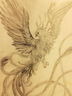 Phoenix tattoo by jayne