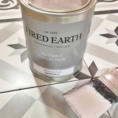 We're painting the town pink this Friday!  Absolutely love this colour from @firedearthuk and I'm loving all the pale pink interiors at the moment.  Girlyness rules!!