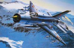 MiG-21SMT Fishbed K (Masao Satake)